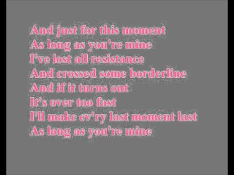As Long As You're Mine Karaoke / Instrumental Wicked
