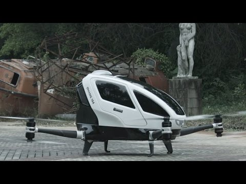 Tech China - Drone which flies humans
