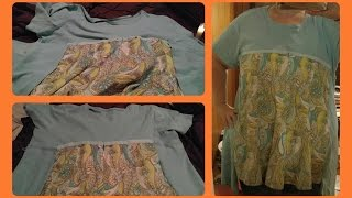 DIY PLUS SIZE T-SHIRT REDO