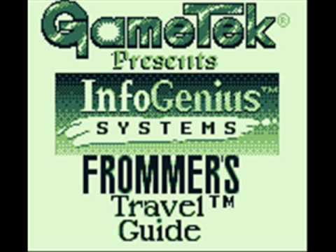Frommer's Travel Guide Game Boy Title Music