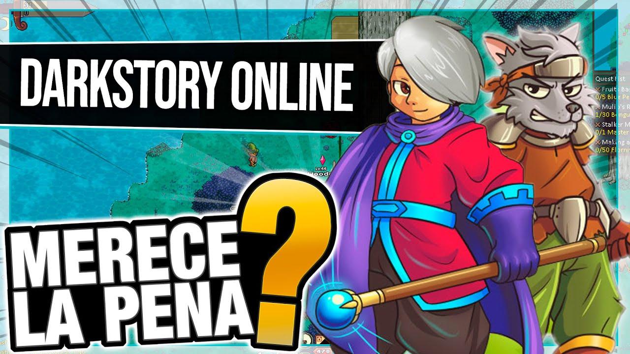 Darkstory Online [ NUEVO MMORPG Free to Play en Español ] 🔥 ¿Merece la Pena?