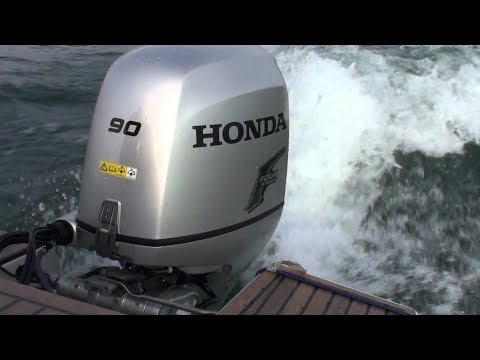 Катер Прогресс + Honda 90 \ The power of Dreams