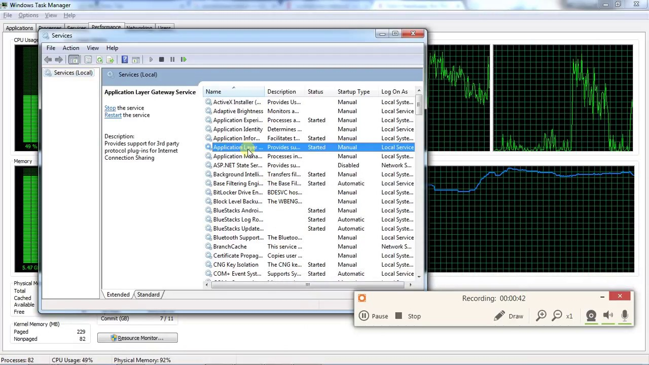 netsvcs high memory usage windows server 2008