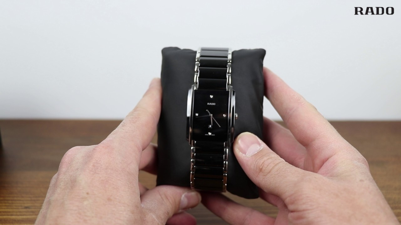 Rado Integral Black Diamonds Watch