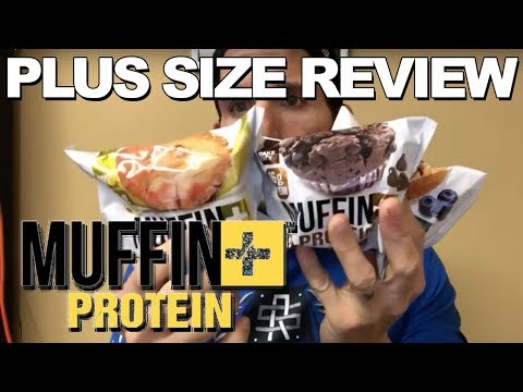 Plus Size Review: Bake City's Protein Muffins