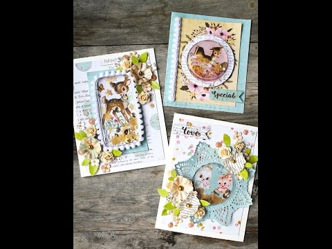 Shaker Cards featuring Confetti Dies on Live with Prima