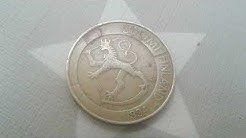 Finnish Markka & finland Suomi Metalic 1 Markka 1994 Finland Coin