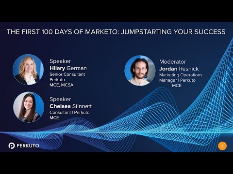The First 100 Days of Marketo: Jumpstarting Your Success