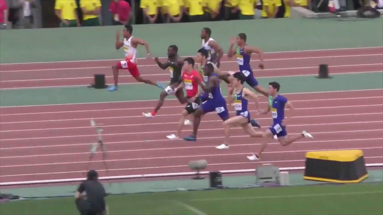 Zohri lolos Olimpiade 2020 setelah catat waktu 10:03 detik Juara Dunia #3