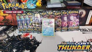Opening 10 Pokemon Lost Thunder Booster Packs