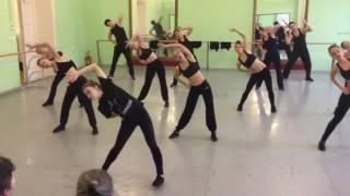 Современный джаз танец. Открытый урок. (часть 1)