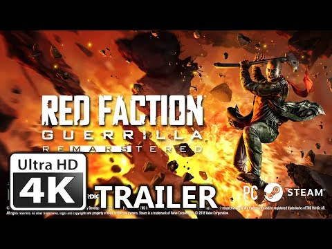 Red Faction Re-Mars-tered Edition 4K Trailer