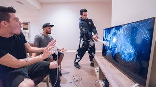 ANGRY ROOMMATE SMASHES TV (FREAKOUT!!)