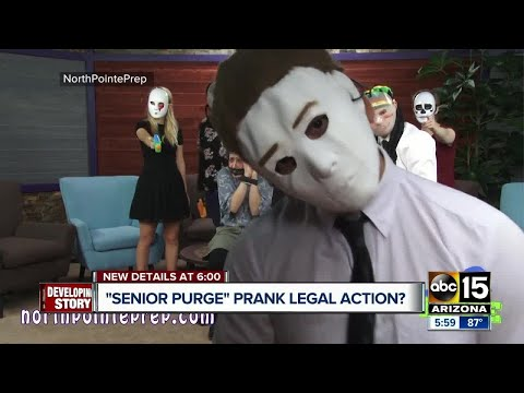 """""""Senior purge"""" prank video could see legal action from parents"""