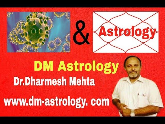 Corona Virus & Astrology by Dr. Dharmesh M. Mehta