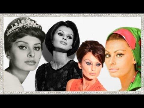 Sophia Loren Makeup Estilo (Katya Maquiagem)