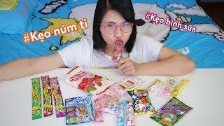 Ăn Thử Các Loại Kẹo Mới Độc Lạ Của Thơ Nguyễn Family Shop