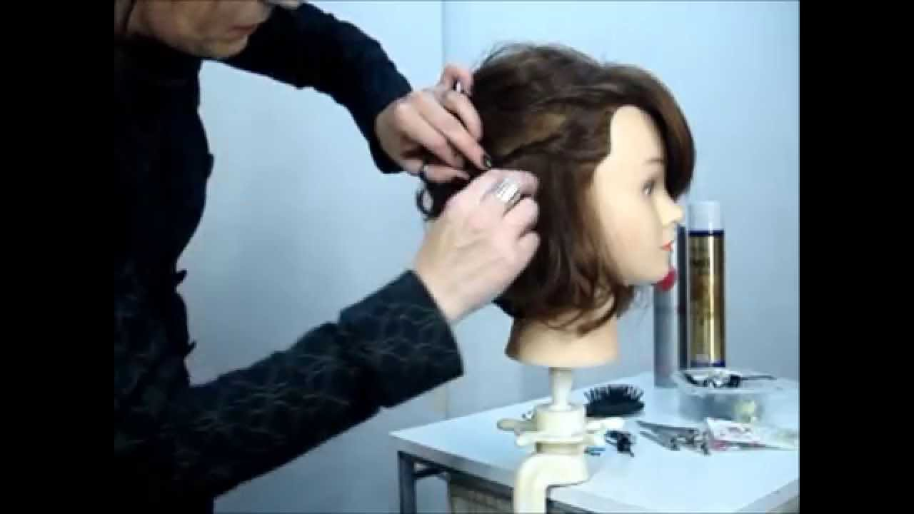 Peinado para melena corta youtube - Peinados melenas cortas ...