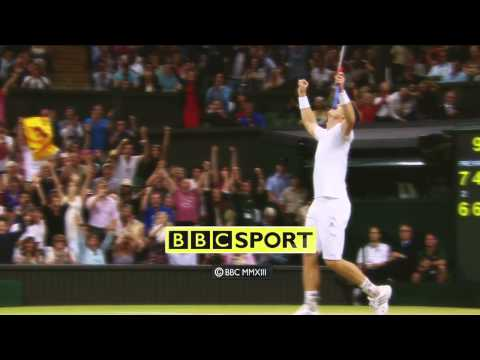 Andy Murray wins Wimbledon 2013 (BBC End Credits)