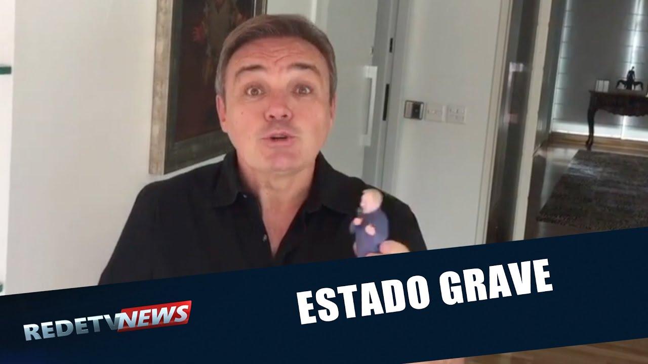 Gugu Liberato é internado após sofrer acidente doméstico nos EUA