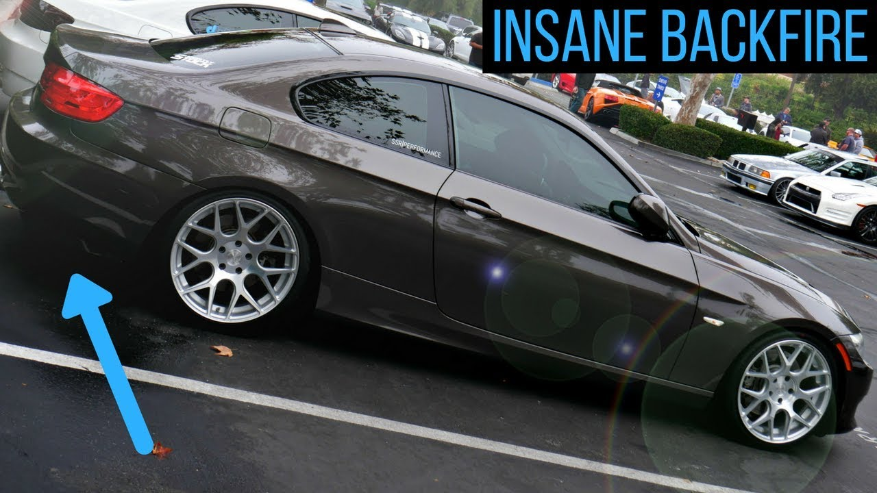 His 360WHP STRAIGHT PIPED 335i is INSANE! (N55)