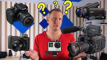Welche ist die beste Youtube-/Videokamera? (für Anfänger und Profis)