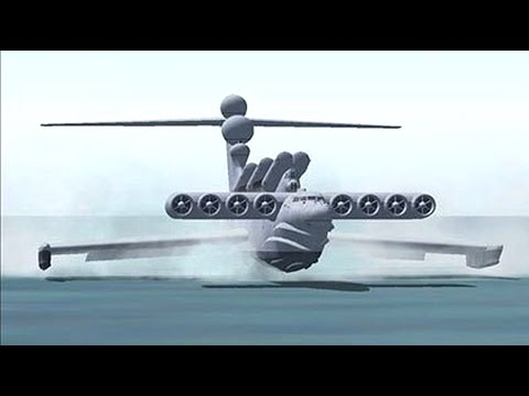 Lun Attack Ekranoplan : The Sea Monster - MADE in the USSR