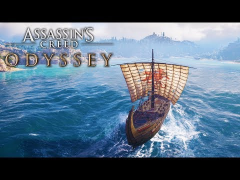 EPIC BATTLES AT SEA (Assassin's Creed Odyssey Free Roam)