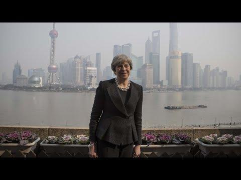 UK PM wraps up three-day visit to China