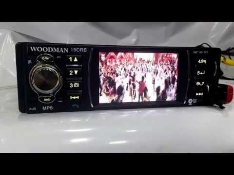 Woodman Single Din MP5 (USB & Bluetooth) Car Media Player