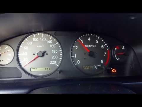 Дерганья стрелки тахометра Nissan almera n16 2000