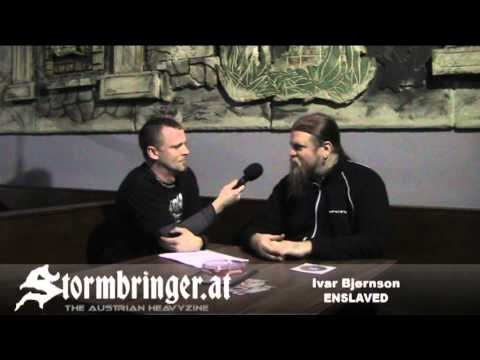 ENSLAVED: VIDEO Interview with Ivar...