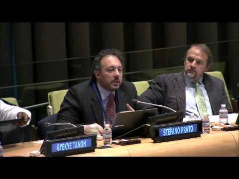 Mr. Stefano Prato – Society for International Development - UN Financing for Development Hearing