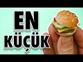 Dünyanın En Küçük Hamburgerini Yaptık
