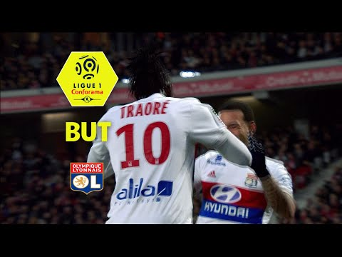 But Bertrand TRAORE (21') / LOSC - Olympique Lyonnais (2-2)  / 2017-18