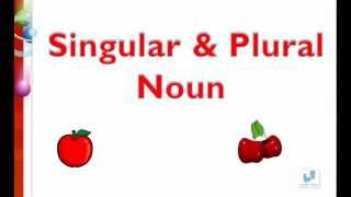 MCQs on Singular and plural nouns English tutorials for kids- Session 3