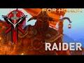 RAIDING THEIR SOULS!!!! (For honor 1v1s. Raider is savage)
