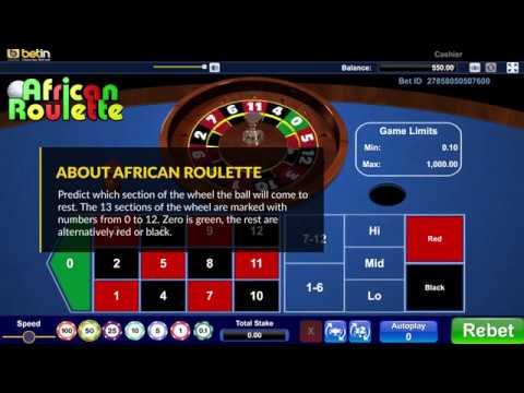 Betin African Roulette