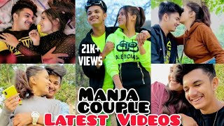 manish and pooja all new videos|manish all new reels|pooja all new reels|Manja couple romantic video