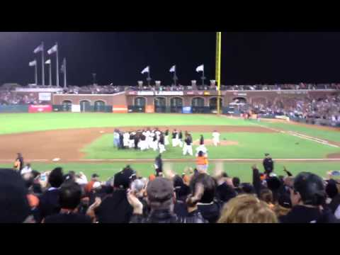 Matt Cain pitches a Perfect Game!