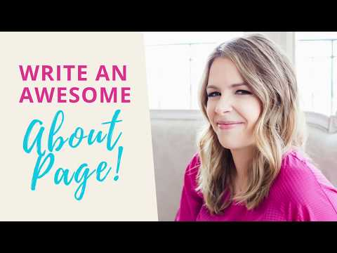 How to Write an About Me Page That's Better than Everyone Else's ;) from YouTube · Duration:  5 minutes 58 seconds