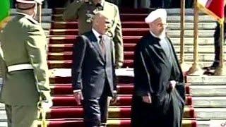 اولین سفر رئیس جمهوری افغانستان به ایران