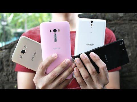 Sony Xperia M5 VS Xperia C5, Galaxy A8, Zenfone Selfie Camera Review
