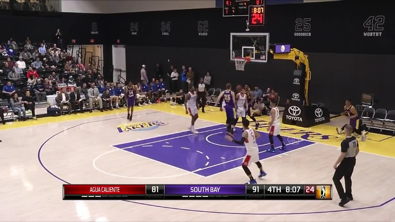 Scott Machado with 26 Points vs. Agua Caliente Clippers
