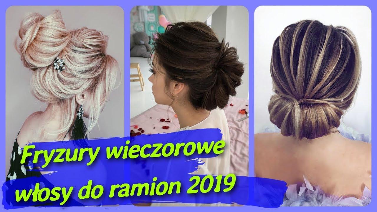20 Pomysłów Na Damskie Fryzury Wieczorowe Włosy Do Ramion 2019