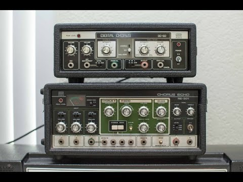 Roland DC 50 and RE 301 Chorus Comparison