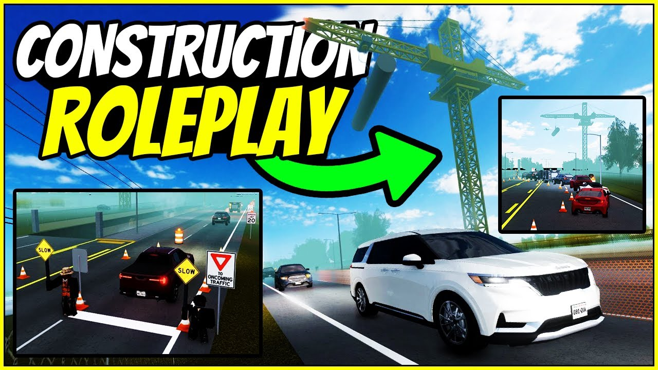 Download CRAZY CONSTRUCTION ROLEPLAY?! - Greenville Wisconsin Roblox