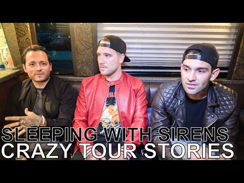 Sleeping With Sirens - CRAZY TOUR STORIES Ep. 585