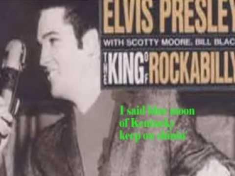 Blue Moon Of Kentucky-Elvis Cover With Lyrics (Pattarasila59)
