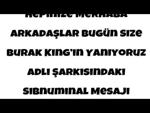 Burak King - Yanıyoruz İfşa